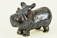 Bronzen Nijlpaard
