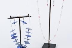 Porselein blauw  - roze sets