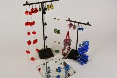 Rode - Spijkerblauw - Paars - Porselein blauw sets
