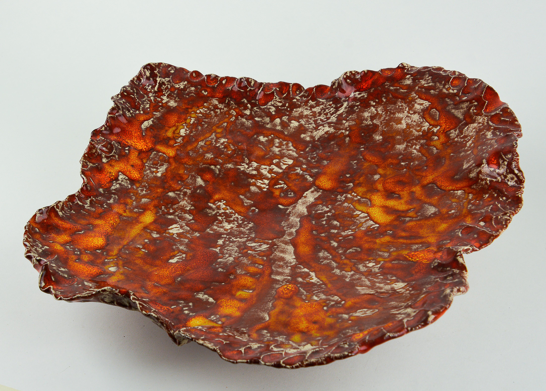 Rode/oranje wijde schaal