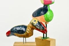 Gekleurde trekvogels 1-2